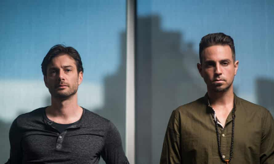 James Safechuck, left and Wade Robson.