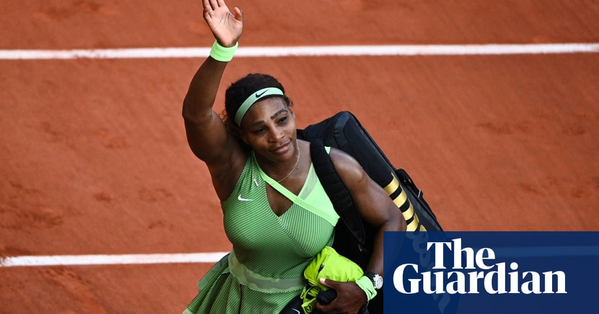 Serena Williams out of French Open after straight sets defeat to Rybakina