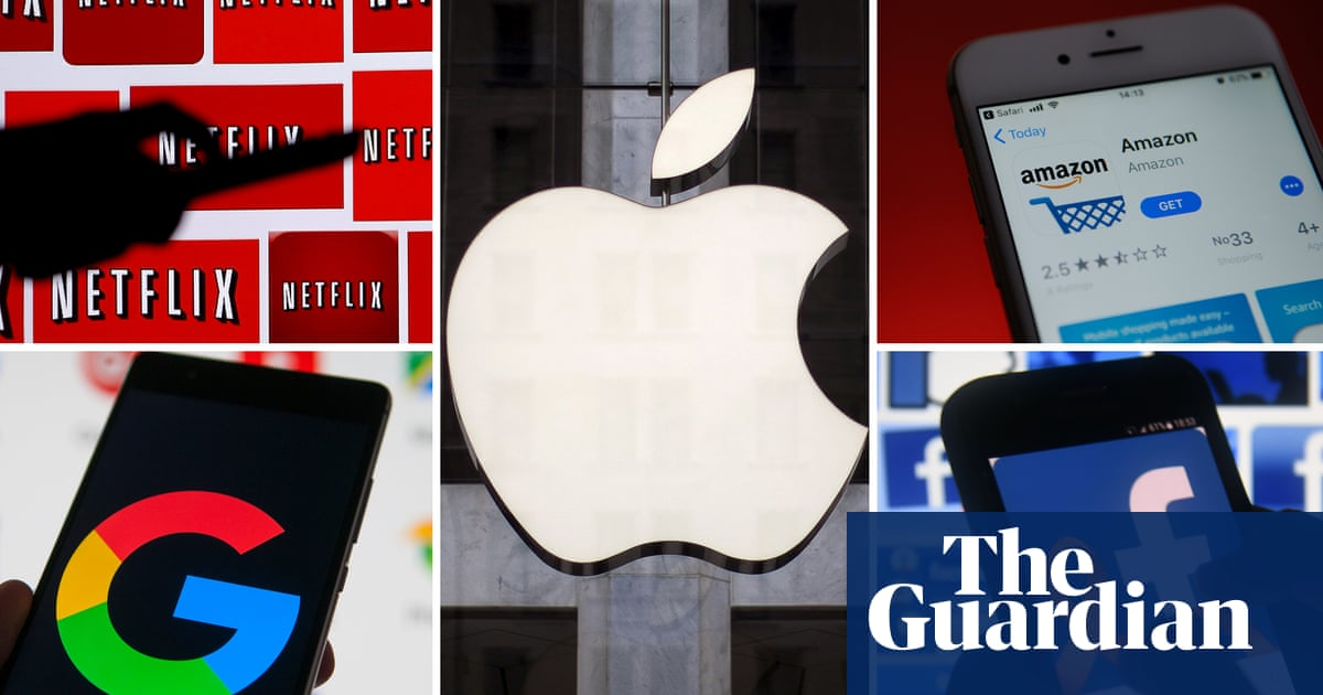 'Silicon Six' tech giants accused of inflating tax payments by almost $100bn
