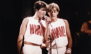 George Michael and Andrew Ridgely, AKA Wham!