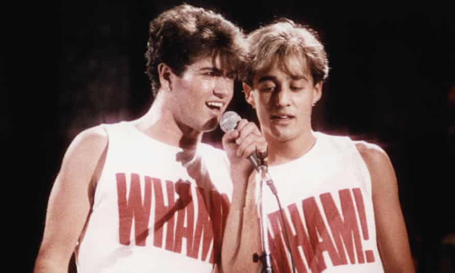 Wham! performing in 1983
