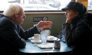 Bernie Sanders and Susan Sarandon in April 2016.