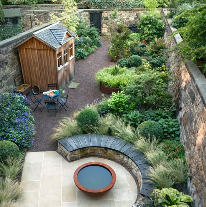 How To Handle A Long Narrow Garden Life And Style The Guardian