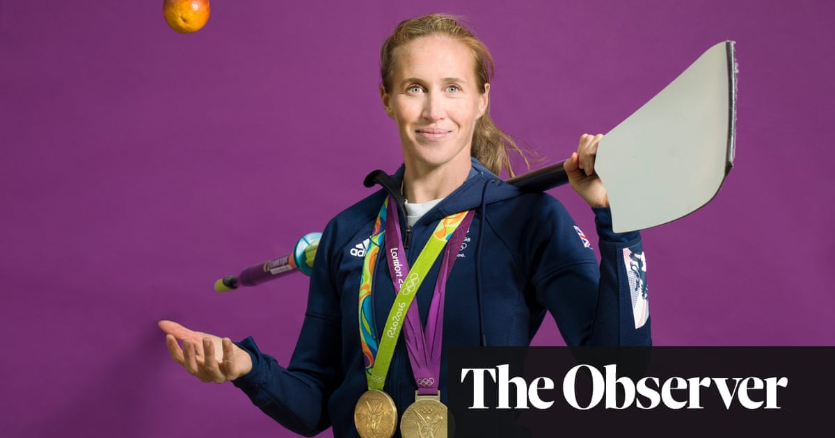Helen Glover: 'I've never demonstrated self-restraint with ice-cream'