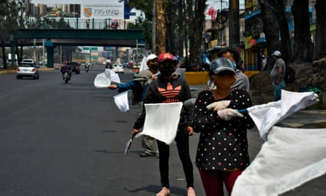 Guatemala's white flags indicate pandemic's deadly side-effect: hunger
