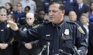 Houston Police Chief Art Acevedo, File photo.