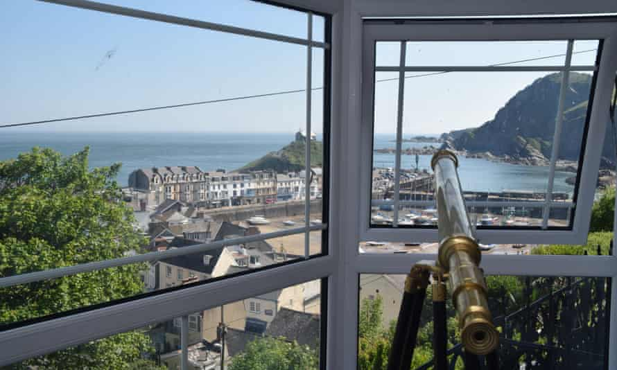 'The quintessential English seaside resort': harbour view at Ilfracombe.