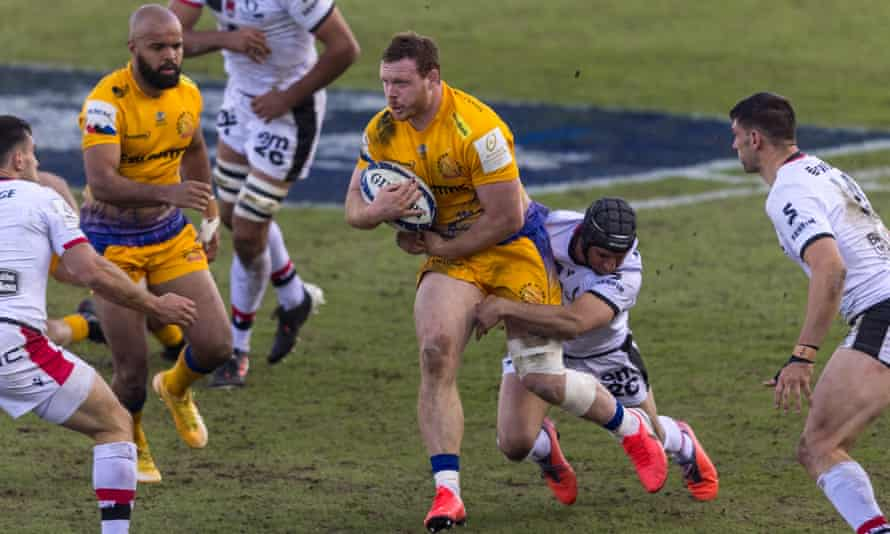 Exeter reached the quarter-finals of the Champions Cup after Saturday's victory over Lyon.