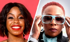 'Why you making me sound old?' … London Hughes, left, and Gina Yashere.