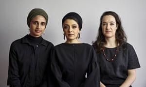 Amina Kaskar, Sumayya Vally and Sarah de Villiers of Counterspace.