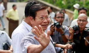 Khin Nyunt, former prime minister and military intelligence boss is released from house arrest in 2012.