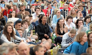 Wandsworth council said it decided to show the game on big screens because it had 'grabbed the nation's attention'.