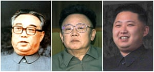 Dynasty … the founder of North Korea, Kim Il-sung, Kim Jong-il and Kim Jong-un.