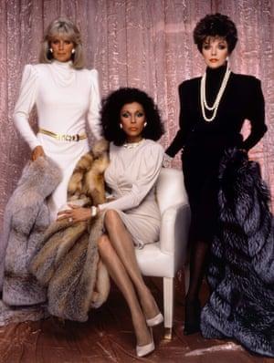 Die-nasty: the original Dynasty triple threat of Linda Evans, Diahann Carroll and Joan Collins