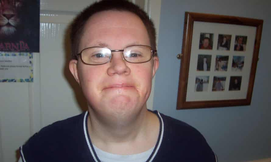 Richard Handley, who had Down's syndrome and died from constipation