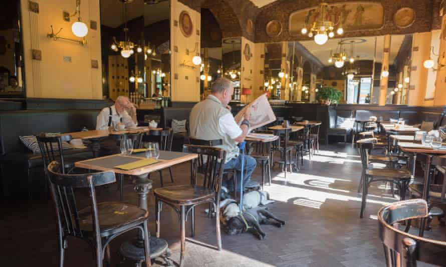 The Caffe San Marco in Trieste