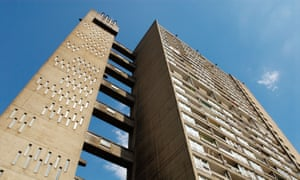 Balfron Tower in Poplar, London, which inspired Ballard.
