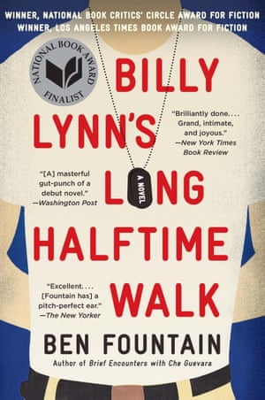 Billy Lynn's Long Halftime Walk by Ben Fountain – cover