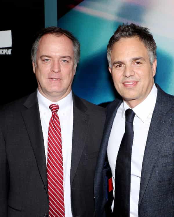 Attorney Robert Bilott and Mark Ruffalo, who plays him in the movie Dark Waters