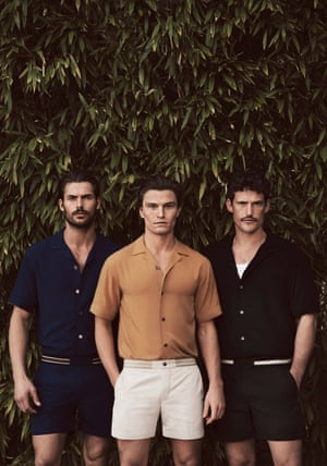 The first resort for menAs a veteran of swimwear shoots, the menswear  model Oliver Cheshire knows good beachwear when  he sees it. Now he is bringing his particular brand  of expertise to his own resort-wear label, Ché. Think James Bond meets the Talented Mr Ripley's holiday wardrobe. From £75 for a shirt, chestudios.co.uk
