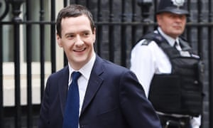George Osborne arriving at Downing Street on 8 May 2015