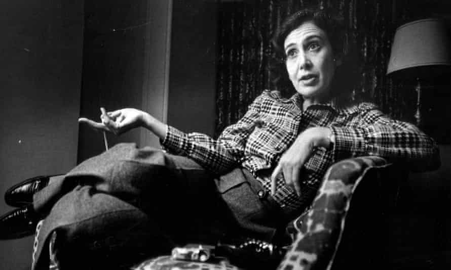 Susan Brownmiller in 1975.