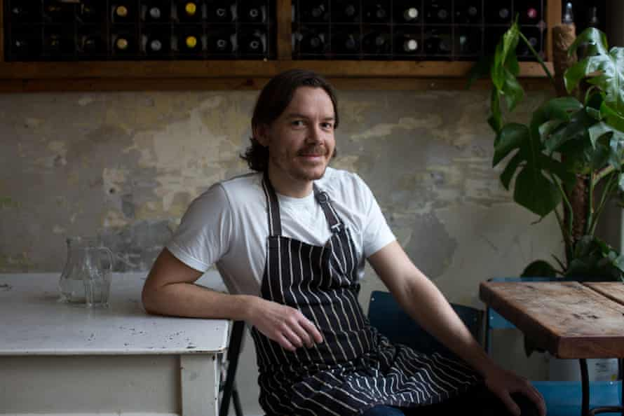 Nick Balfe of Saln, Brixton: 'Winter's ingredients offer a subtle and diverse array of flavours; humble and unexpected ingredients can play a vital, starring role.'