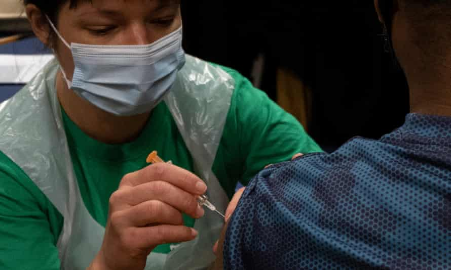 The data has confirmed fears that some marginalised groups are not being adequately reached by the vaccination programme.