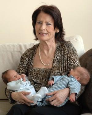 Maria del Carmen Bousada, who had twins at 66.