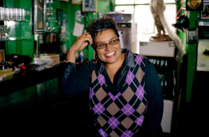 Jackie Kay today.