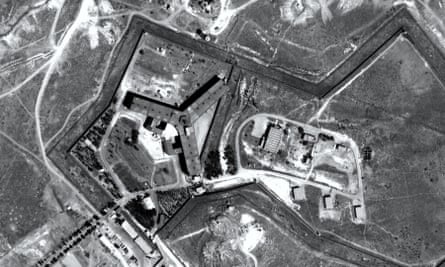 An Amnesty reconstruction of Saydnaya prison in Syria.