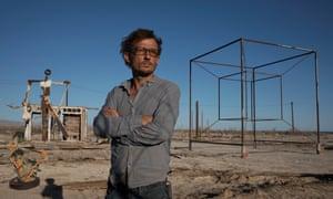 Artists transformed a desert ghost town in Salton Sea, California.