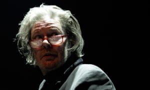 Glenn Branca performs on stage during the Villette Sonique Festival at the Grande Halle on 28 May 2011 in Paris, France.