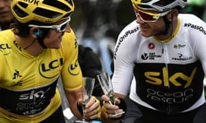 Geraint Thomas and Chris Froome took first and third in the 2018 Tour, which led to calls for an end to power meters and for salaries to be reined in to help bridge the gap.
