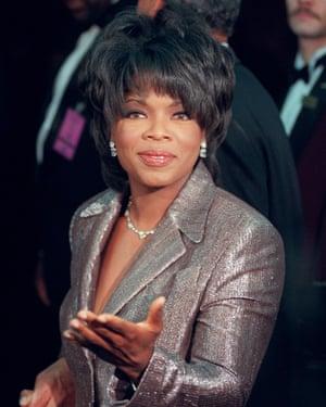Oprah Winfrey in 1996.