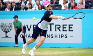 Andy Murray won the doubles at Queen's and then said he might play singles at the US Open.
