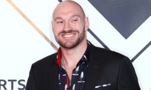 Tyson Fury attends the 2018 BBC Sports Personality of the Year awards show