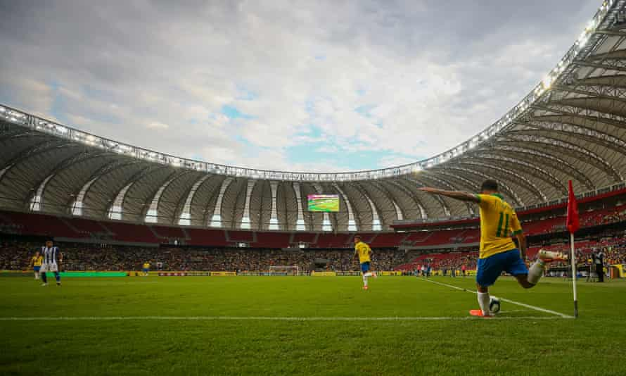 Philippe Coutinho was among the players on the scoresheet when Brazil beat Honduras 7-0 in their final warm-up friendly for the Copa América on Sunday.