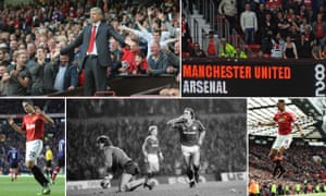 Arsène Wenger is sent to the stands; United win 8-2; Marcus Rashford arrives; United win in 1987; and Robin van Persie scores against his former club