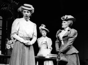 In 1982, Judi Dench was Lady Bracknell (with Anna Massey as Miss Prism and Zoe Wanamaker as Gwendolen) in The Importance of Being Earnest, staged at the National in London.