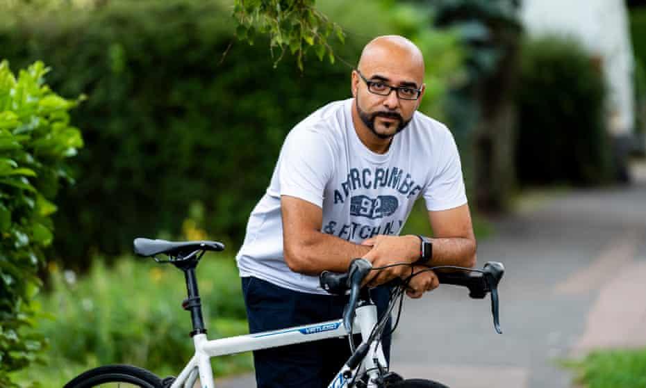 Omar Terywall, founder of the Cambridge stolen bikes Facebook group.