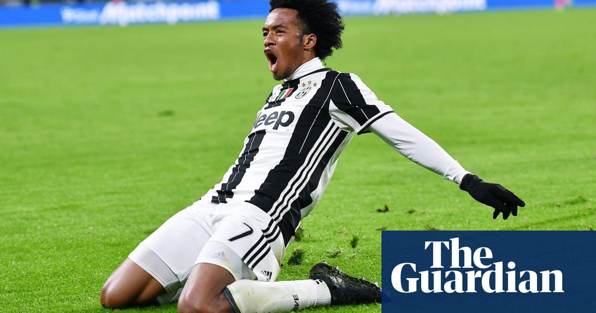 new style caf5d 2f0cb Juan Cuadrado gets his groove back as Juventus dance past ...