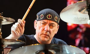 Neil Peart in 2008