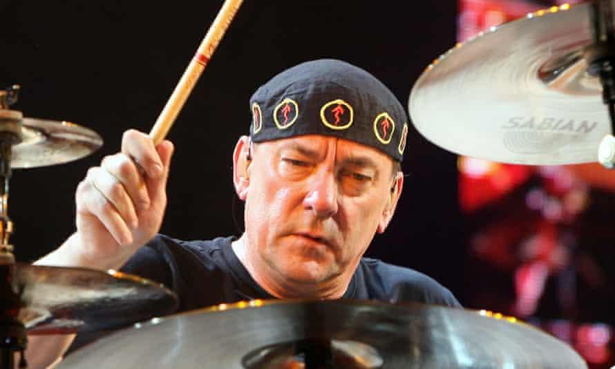 Neil Peart in 2008