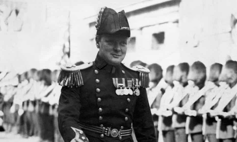 Winston Churchill in 1914, when he was First Lord of the Admiralty