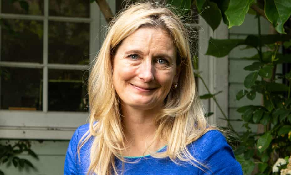 Cressida Cowell, photographed at her home in London.