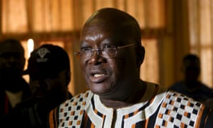 Roch Marc Kabore was proclaimed the winner of a presidential election in Burkina Faso.