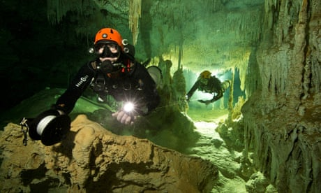 World's longest underwater cave system discovered in Mexico by divers
