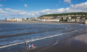 Beach in Weston-super-Mare, Somerset