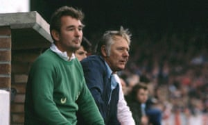 Brian Clough and Peter Taylor oversee the win over Derby that left Forest with the top division's only 100% record after three matches.